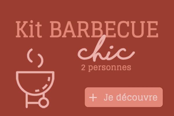 Kit Barbecue CHIC - Halles Modernes