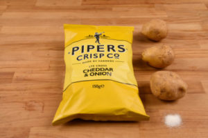 Chips Pipers Crisp - Cheddar Onion - Halles Modernes