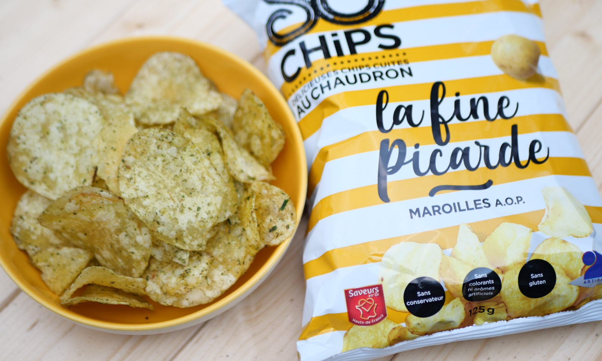 Chips maroilles